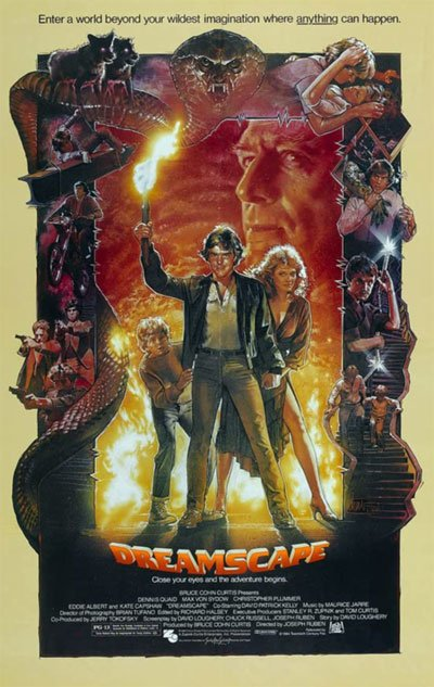 A small, low-budget science fiction film from the 80s, a precursor of Christopher Nolan's Inception Style. #MOVIES