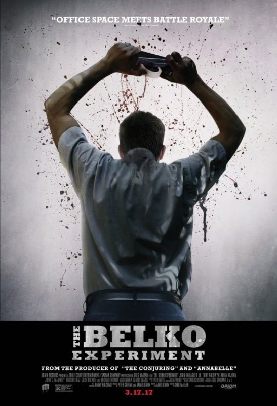 The Belko Experiment is a psychological thriller that makes its essence the relationships between the various characters. #MOVIES