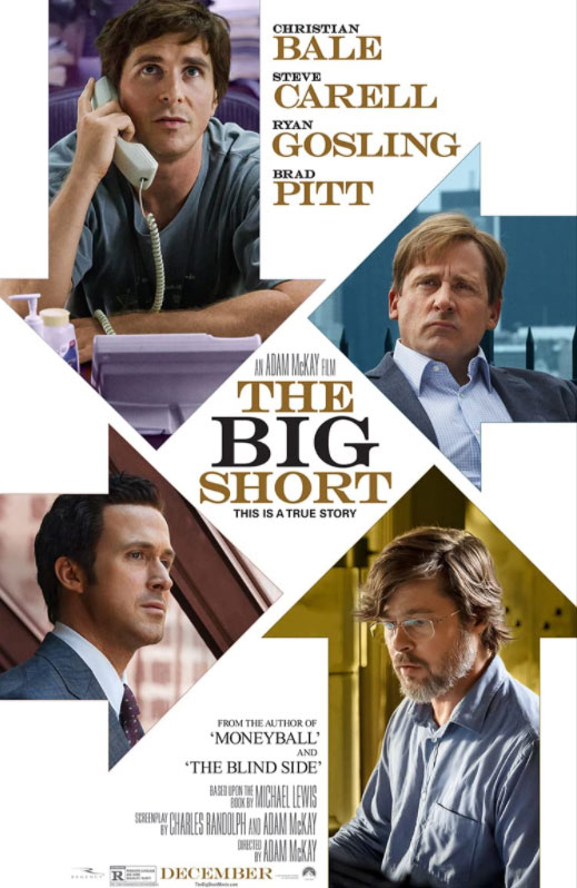 A perfect Mockumentary Movie to bring in all the world schools to understand the terrible financial crisis of 2007. #MOVIES