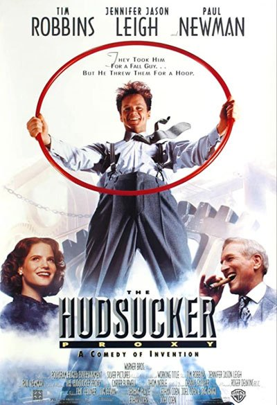 The Hudsucker Proxy is a movie about the incredible success of the inventor of the Hula Hoop, become of the most loved toys ever. #MOVIES