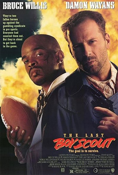 One of the best pure entertainment action films of the 90s. A story of crime and fun jokes where thriller and comedy merge perfectly. #MOVIES