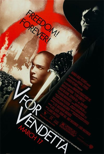 V for Vendetta is an explosive action tragedy that condemns all dictatorships in history. #MOVIES