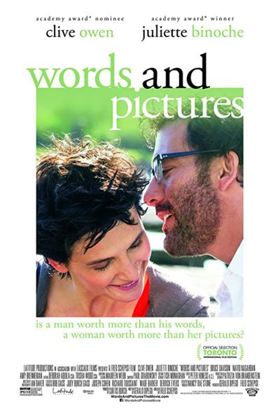Fun romance comedy built with hilarious verbal duets on the fight between the word's power against the pictures' expressiveness. #MOVIES