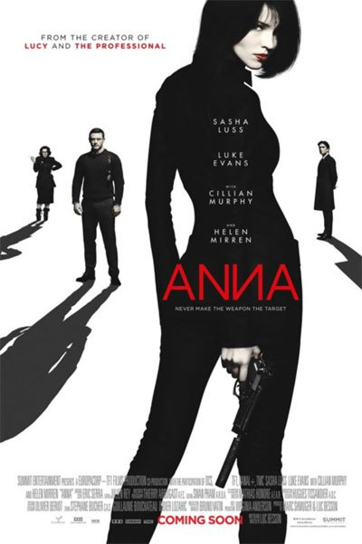 Anna is an excellent female espionage with a woman alone against everyone into daring action scenes and a series of characters ready to screw each other at any moment. #MOVIES