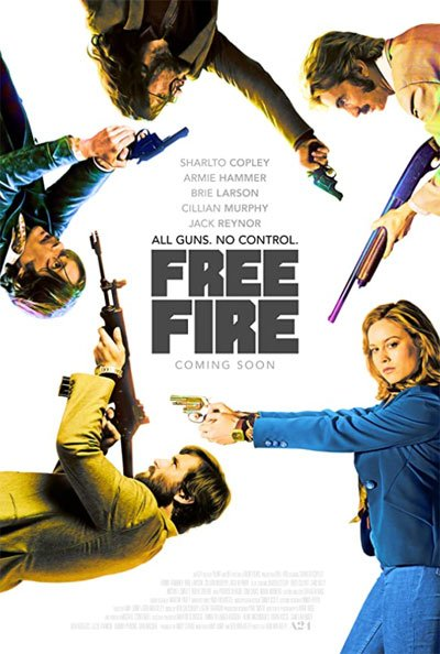 Free Fire is a great action movie with a heart-beating Mexican stall between exaggerated and hilarious characters. #MOVIES