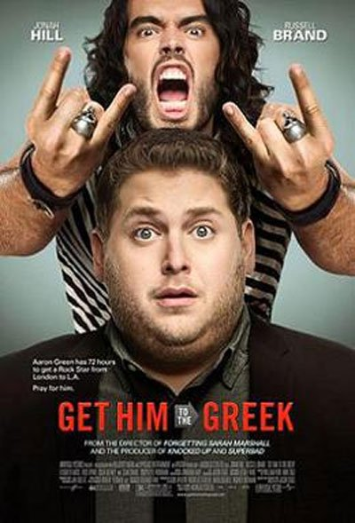 Get Him to the Greek is a 2010 on-the-road comedy that makes fun of the contemporary wild world of rock and pop music. #MOVIES
