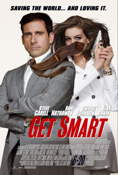 Get Smart is a demented spy story cleverly joking about all the genre's stereotypes of espionage and conspiracies movies. #MOVIES