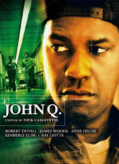 John Q is a dramatic parable of an ordinary man becoming a terrorist for a day, the only way to save his son. #MOVIES