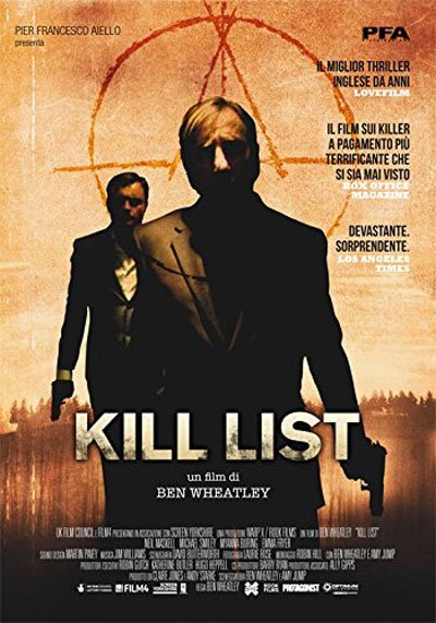 Kill list is a thriller mystery movie halfway about a former soldier accepting murder contract with a friend retired from the army. #MOVIES