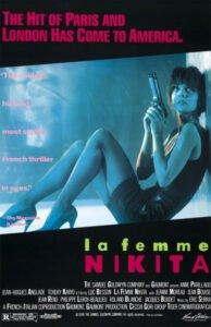 La Femme Nikita is a magnificent noir along a dark Paris with an American action rhythm and European cinema's most intimate soul. #MOVIES