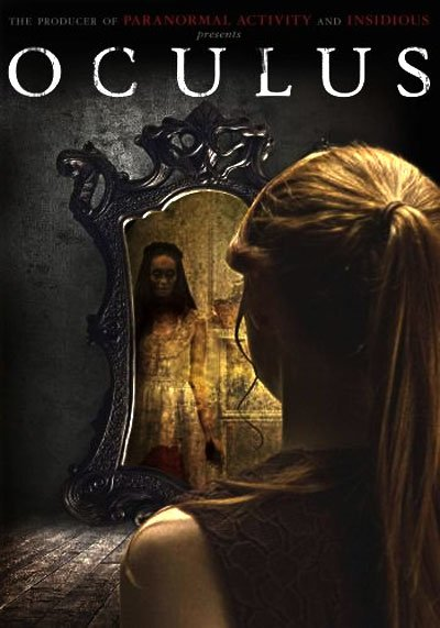 Oculus carry horror from a mirror to the unlucky eyes that look into it. #MOVIES