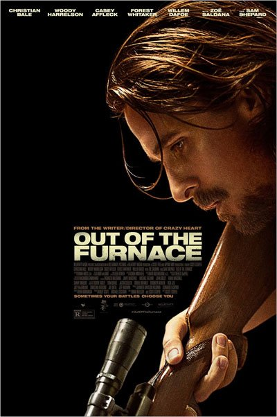 Out of the furnace is a realistic and exciting drama about a quiet worker man, dragged by fate into a vortex of anger and violence. #MOVIES
