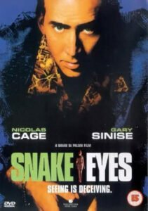 One of the most terrific thriller movies of the 90s with extraordinary cinematic wisdom. An incredible camera virtuosity lesson. #MOVIES