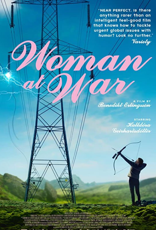 Woman at War is a funny adventurous ecological movie transporting us to the wonderful semi-inhabited Icelandic environment. #MOVIES