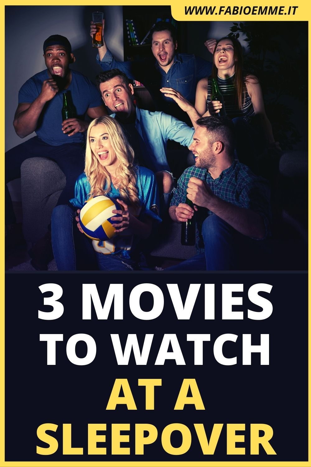 3 Movies to Watch at a Sleepover