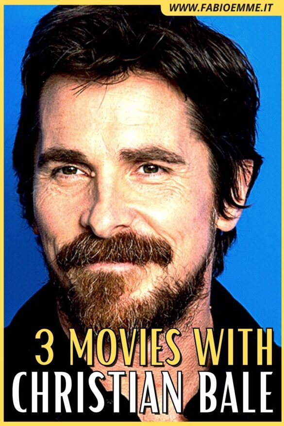 Perfect for action as dramatic roles, always with shining and smart irony. 3 Movies with Christian Bale that you may have missed. #MOVIES