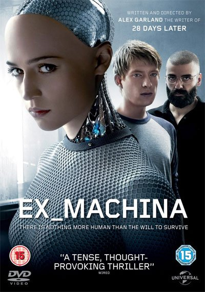 Ex Machina is an outstanding three-way game between two unshakable characters and a third shifting the power's balance. #MOVIES