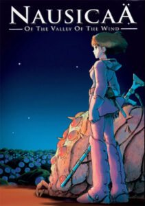 Nausicaä of the Valley of the Wind is a beautiful fantasy / ecological fairy tale.