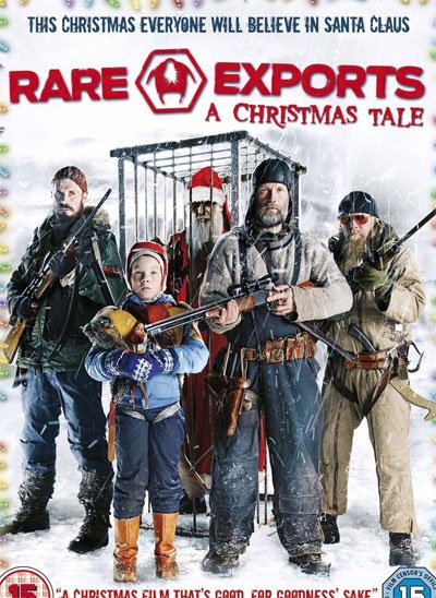 Movie where Santa Claus will turn out to be a ruthless hunter of children