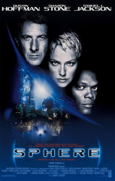 Sphere is a fascinating Sci-Fi mystery where contact with aliens occurs indirectly. #MOVIES