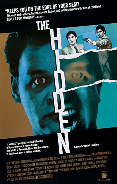 The Hidden is a manhunt of the third kind with great pace and fascinating sci-fi overtones. #MOVIES
