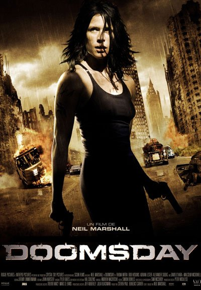 Doomsday is a wild action movie and a fascinating story, casting a group of exaggerated characters perfectly blended together. #MOVIES