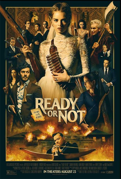 A phenomenal action/horror wedding comedy for a wife night that no married couple I think ever wishes. #MOVIES