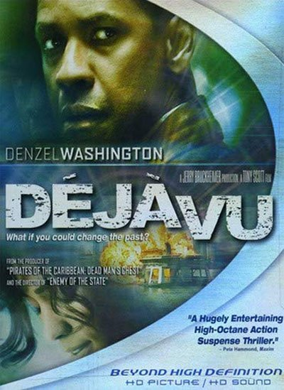 Deja Vu is a sci-fi thriller with a good basic idea carried out with cunning and an action movie pace.