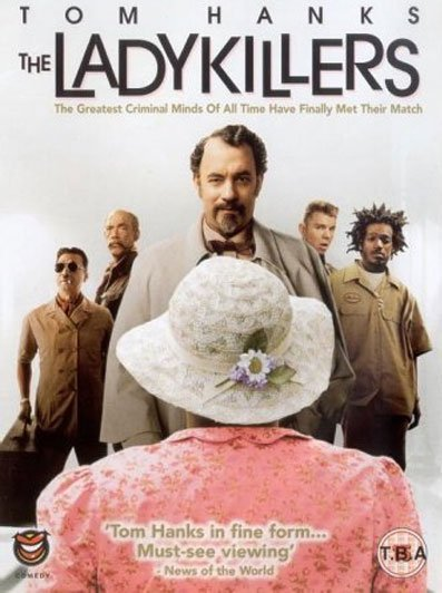 THE LADYKILLERS - A movie with and old woman against a group of characters trying to rob a casino