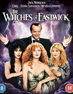 A wonderful black comedy with horror shades, making fun of the apparently happy-smiling small village of Eastwick. #MOVIES