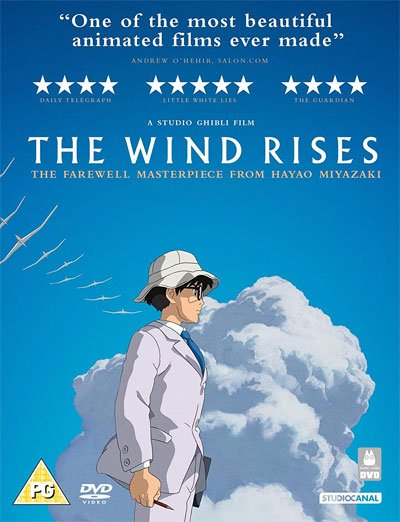 The Wind Rises is a beautiful pacifist story full of dreams and love, despite his weapons and his military background.