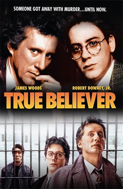 True Believer is an exciting indictment of the law's moral dilemma of ominous secrets and corruption perpetuated to obtain justice.
