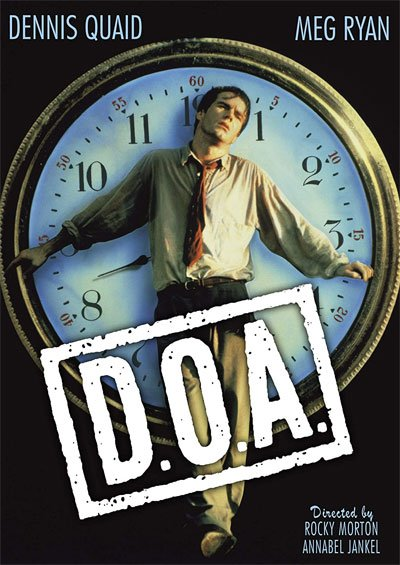 D.O.A. is an excellent dramatic thriller, where unusually is the same victim investigating his own murder in the few days he has left.  #MOVIES