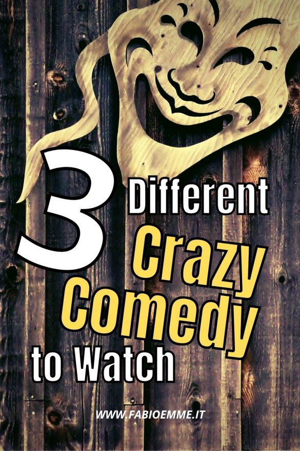 Someone says that to be happy, you have to crazy laugh at least once a day. And what's better than a mad movie to laugh with heart? #MOVIES