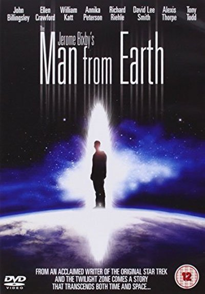 The Man from Earth is a slow but fascinating story, inspired by one of Star Trek's darkest episodes, Requiem for Methuselah. #MOVIES
