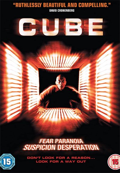 Cube is a science fiction story full of suspense and with a series of enigmatic and intriguing characters. #MOVIES