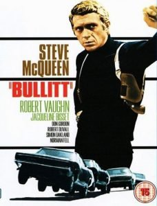Steve Mcqueen in a classic 1968 crime movie full of tension and complex, evil American spirit without feigned or excessive wickedness. #MOVIES