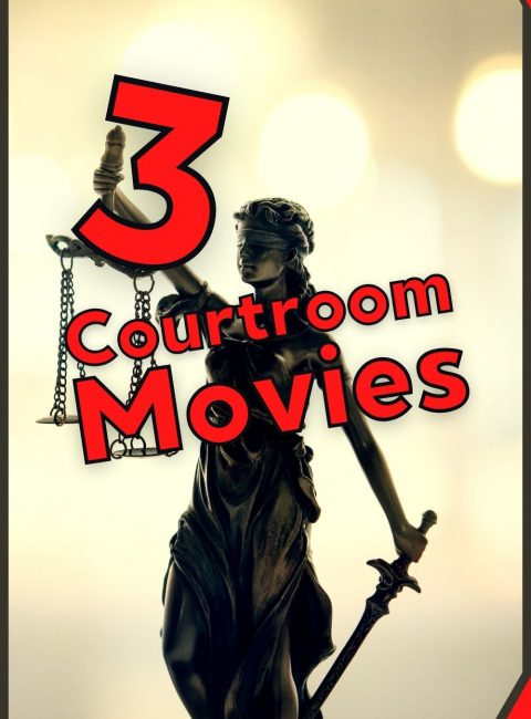 We always hope not to finish like a lonely man vs the entire society, but comfortably watch 3 Courtroom Movies is very different. #MOVIES