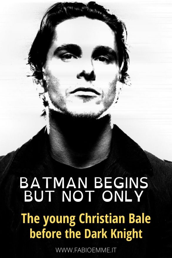 Christian Bale is the dark knight under the mask in our collective imagination since Batman Begins arrived in the cinemas. #MOVIES