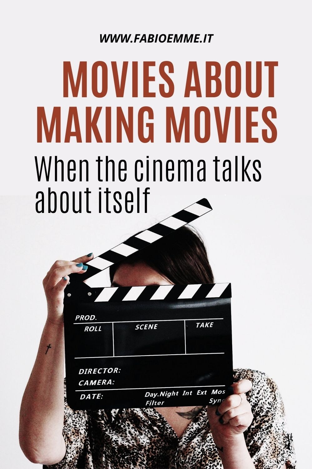 Movies where movies are made. We see the magic of cinema from another angle, behind the world made of the stuff of dreams. #MOVIES