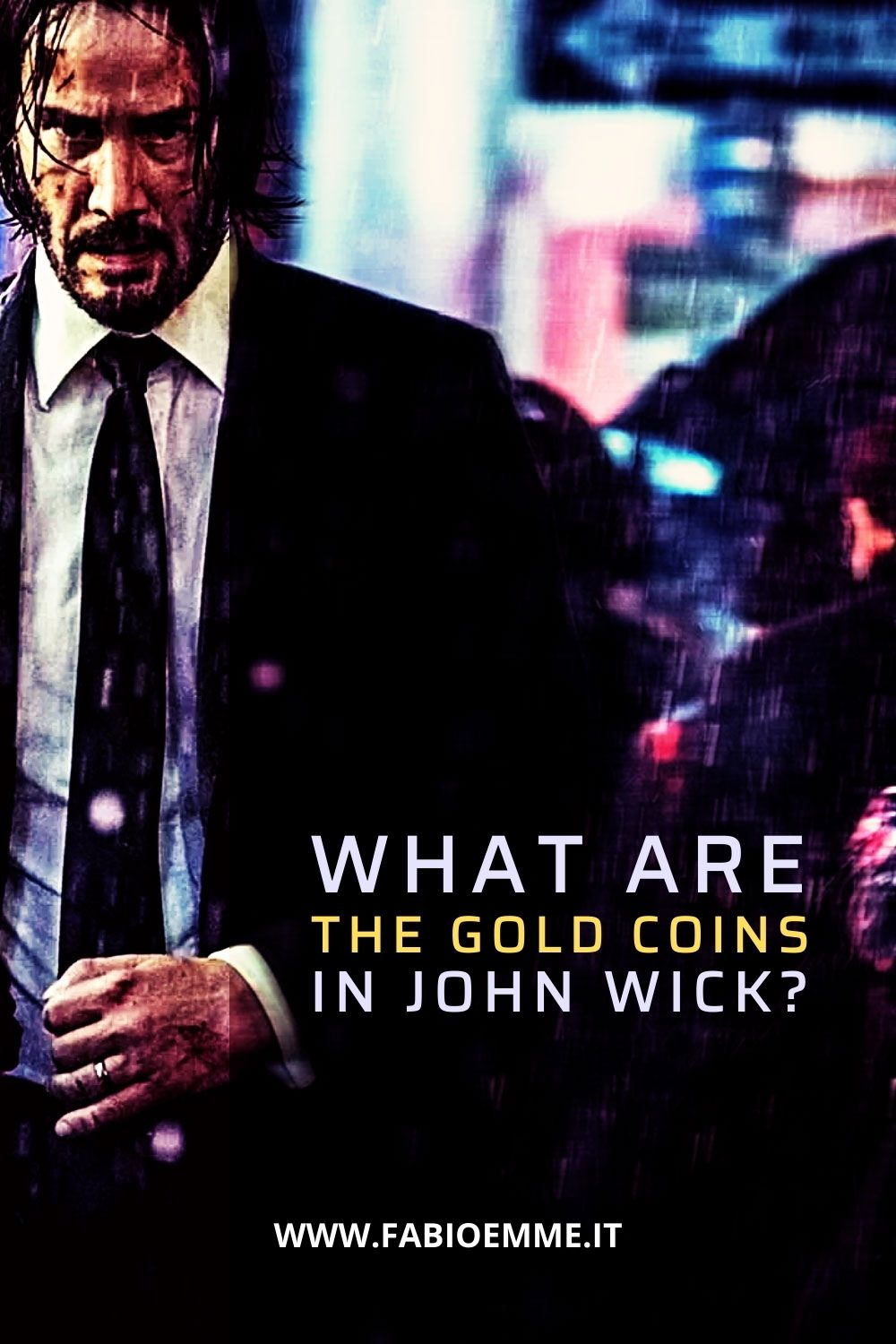Inside the world of Keanu Reeves's John Wick movies, we often see the characters exchange gold coins… but what exactly are they?