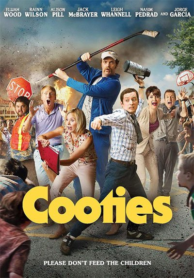 Cooties is a funny and clever baby zombies movie with gore and demented humor of a bloody epidemic in the small town of Fort Chicken. #MOVIES