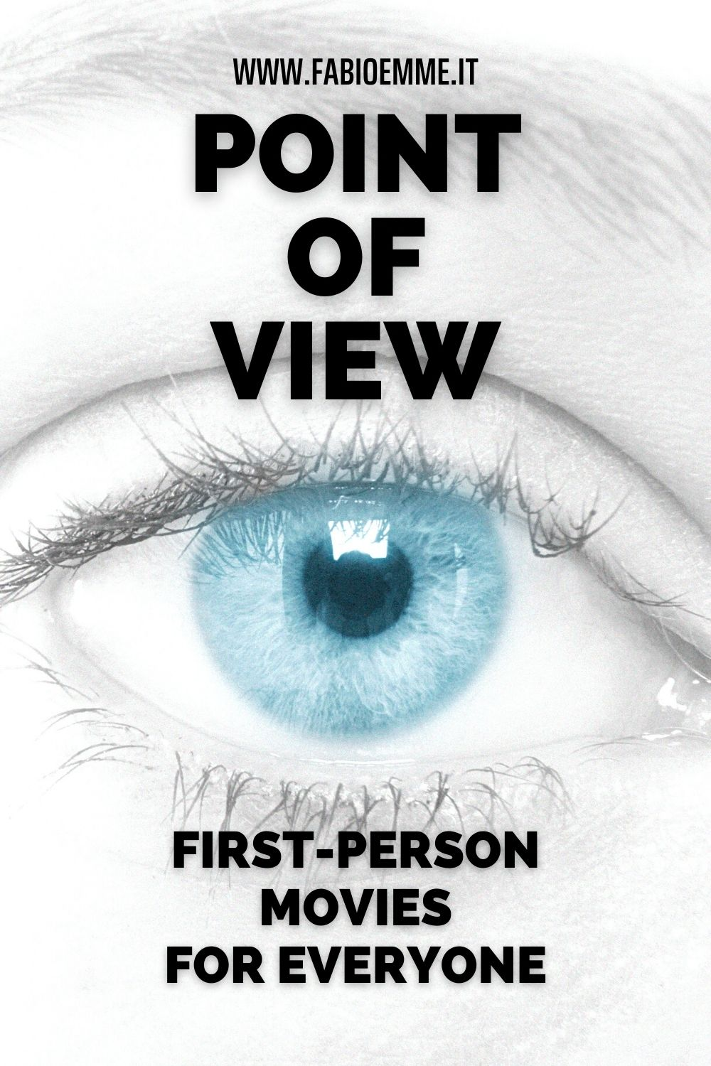 Entering the protagonists' eyes has always been the best point of view as first-person involvement examples for the viewer. #MOVIES