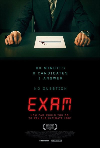 Exam is a fascinating office puzzle where the pieces fit perfectly, even if initially we struggle to see them. #MOVIES