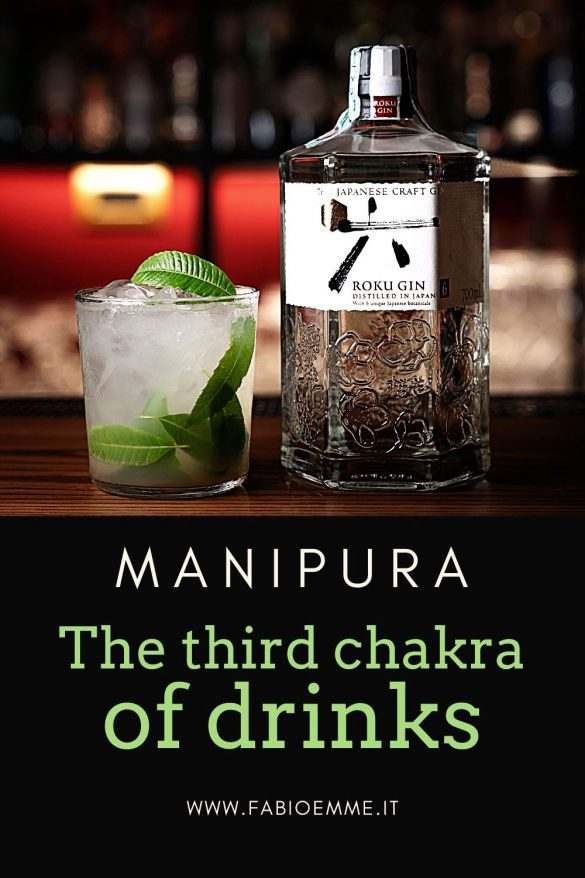 A drink about the Third Chakra MANIPURA, with the self-esteem and autonomy fulcrum, and also the will and personal realization center.