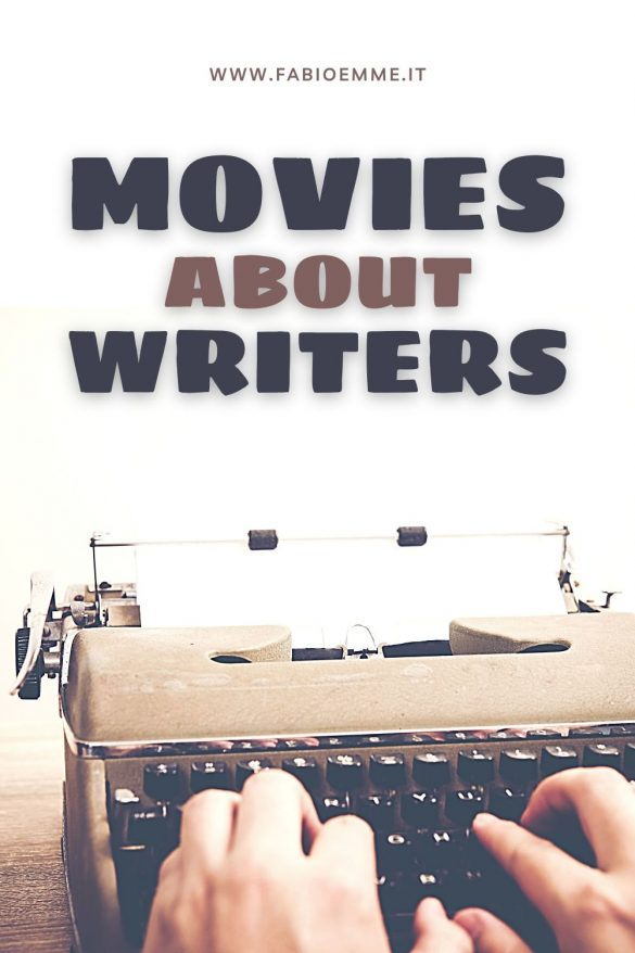 Movies about Writers is when literature and writing books become a center core of a story. Like many Stephen King books, for example. #MOVIES
