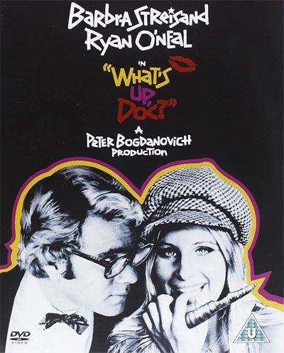 What's Up, Doc is a comedy of sparkling anarchy with the divine Barbra Streisand absolute protagonist madly and irrepressibly in love. #MOVIES