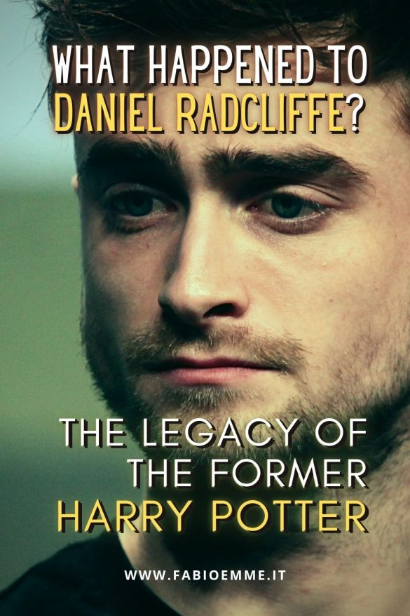 It's been ten years since the new movies of Harry Potter, the magician whose legacy come from the English actor Daniel Radcliffe. #MOVIES